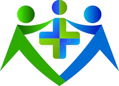 Tecken För Beståndsdel För Symbol För Logo För Begrepp För Familj För Medicinsk Vårdkorsjordklot ...