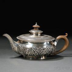 die  besten bilder von teapots silberteller teekannen