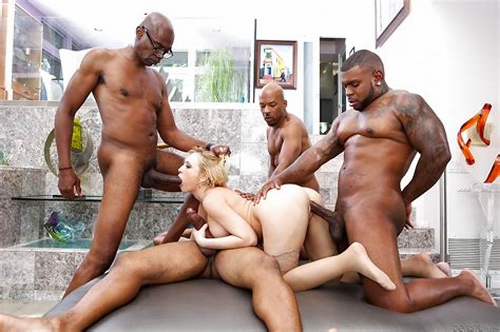 #Hot #Kagney #Lynn #Karter #Takes #4 #Big #Black #Cocks #In #Painful