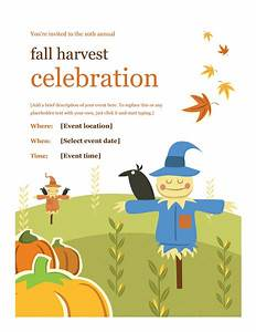 Download Fall Flyer Design Ideas Template Word Free Flyer