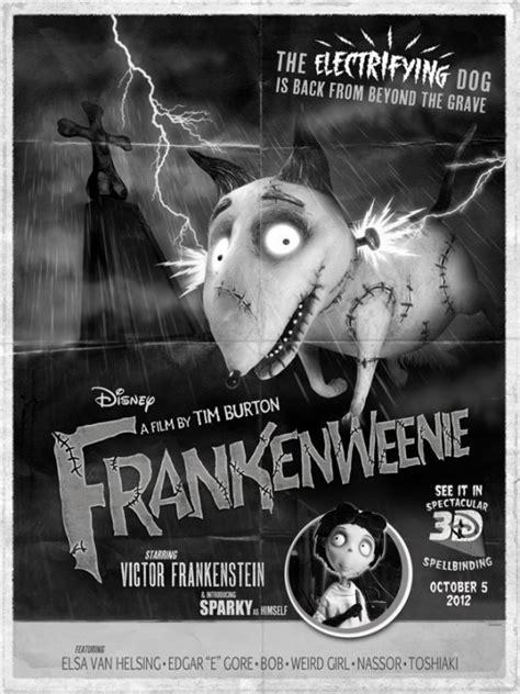 Frankenweenie, película animación Tim Burton - Zinéfilos - Blog de cine