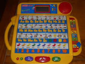 amazon com vtech little smart talking alphabet desk toys