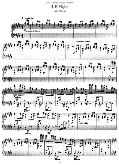 s 141 etude no 5 allegretto free sheet music by liszt