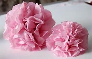 Comment Faire Secher Une Rose : fabriquer une fleur en papier de soie 67 id es diy ~ Melissatoandfro.com Idées de Décoration