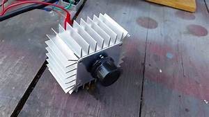 Triac   Bridge Rectifier Treadmill Motor Speed Control