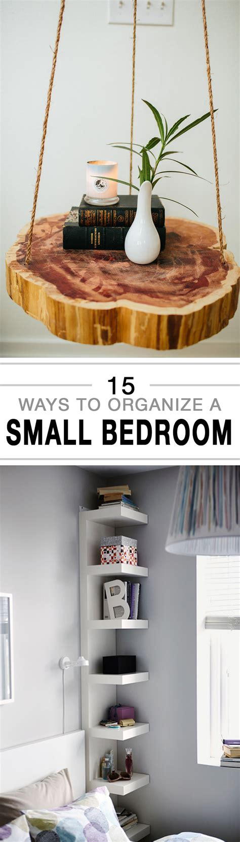 How To Organize Bedroom by 15 Ways To Organize A Small Bedroom
