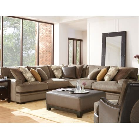 Metropolis 3pc Sectional Sofa by Home Metropolis 3 Pc Sectional Taupe Home