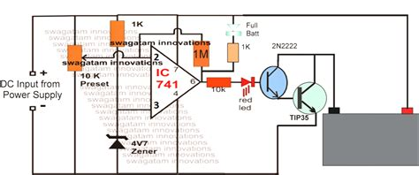 Automatic Universal Battery Charger Circuit For All Types