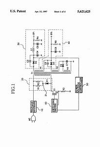 patent us5621625 surge protection circuit for a With circuit protection