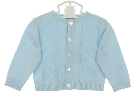 Baby Blue Cardigan Sweater