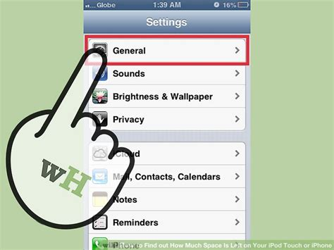 how to find out what iphone i how to find out how much space is left on your ipod touch