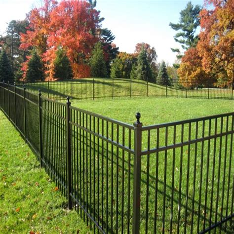 lowes garden fencing decorative wrought iron garden fence lowes wrought iron