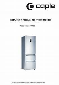 Rff60 Instruction Manual