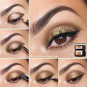 Maquillage Yeux Tuto : 5 tops tutos maquillage pour le nouvel an astuces de filles ~ Nature-et-papiers.com Idées de Décoration