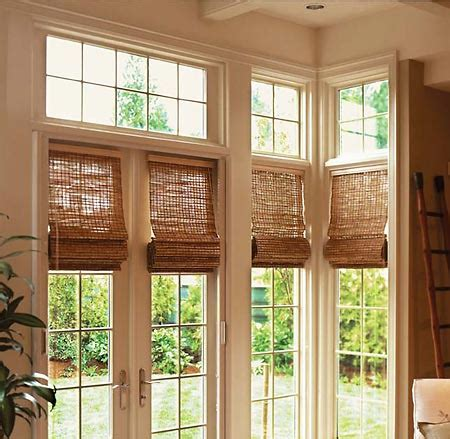 dayton natural woven wood shades window treatments