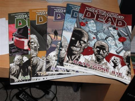 "Set Of ""the Walking Dead"" Graphic Novels  Secret Santa"