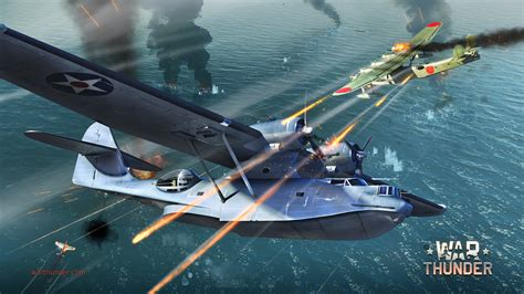 Flying Boats Of Ww2 by War Thunder Next Mmo Combat For Pc Mac Linux