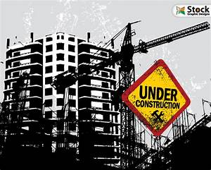 Free Vector Buildings Under Construction | Vector ...