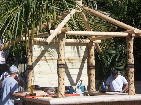 How To Build A Tiki Hut by How To Build A Tiki Hut Bar