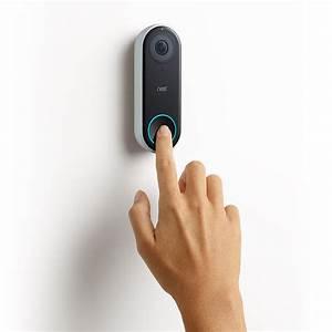 Nest Hello Video Doorbell  Door Lock  And Temperature