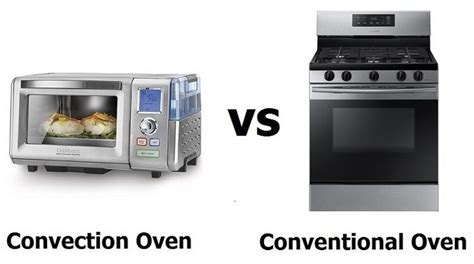 Conventional Toaster Oven by Convection Oven Vs Conventional Oven Home Cookable
