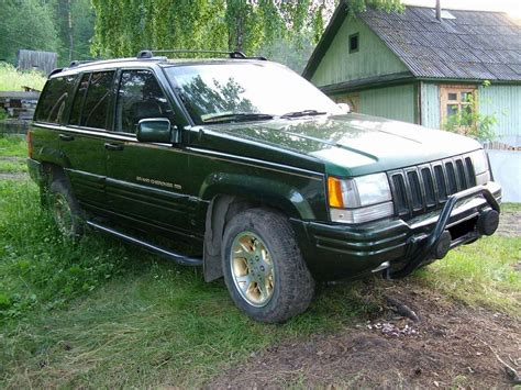 1995 jeep grand cherokee 1995 jeep grand cherokee limited pictures 5200cc