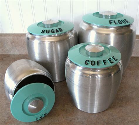 teal kitchen canisters oh la la turquoise kitchen canisters for the home