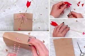 Comment Emballer Un Cadeau : tuto fabriquez un sachet de la saint valentin pour emballer le cadeau de votre ch ri e des ~ Maxctalentgroup.com Avis de Voitures