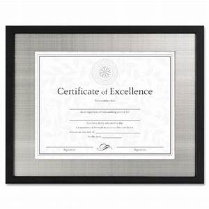 dax n15788st contemporary wood document certificate frame With black document frame