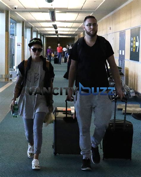 ruby rose vancouver ruby rose departs vancouver after dj set photos