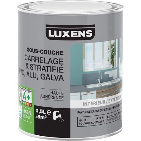 sous couche carrelage stratifi 233 pvc aluminium galva luxens 0 5 l leroy merlin