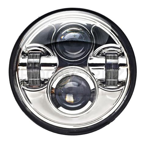 5 3 4 daymaker replacement chrome 5 3 4 quot led harley daymaker style headlight