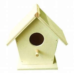 Basteln Mit Holz : vogelhaus nistkasten holz natur unbehandelt zum anmalen ~ Lizthompson.info Haus und Dekorationen