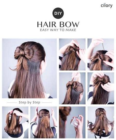 diy easy hairstyles easy hairstyles  medium hair