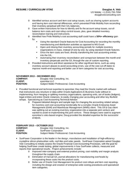 Executive Business Process Analyst Resume Template  Page 6
