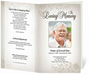 214 best creative memorials with funeral program templates for Free funeral brochure templates online