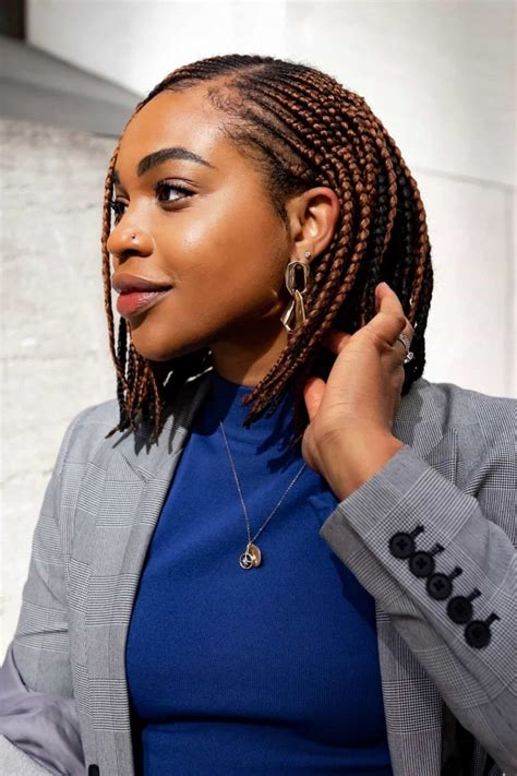Crochet braid styles are all the rage now and they are a great protective hairstyle. 30 Short Box Braid Styles For Every Lady To Try | ThriveNaija
