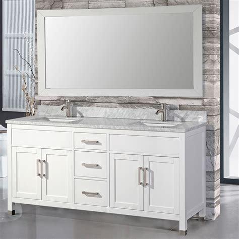 double sink mirrored bathroom vanity mtdvanities ricca 72 quot double sink bathroom vanity set with