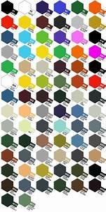 Colour Charts Paint Palette Model Paint Paint Charts