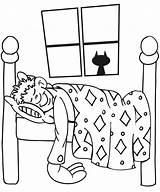 Sleeping Coloring Boy Pages Bedroom Drawing Child Sleep Boys Sleepy Printable Kid Bed Dream Cartoon Buildings Architecture Sheets Bear Asleep sketch template