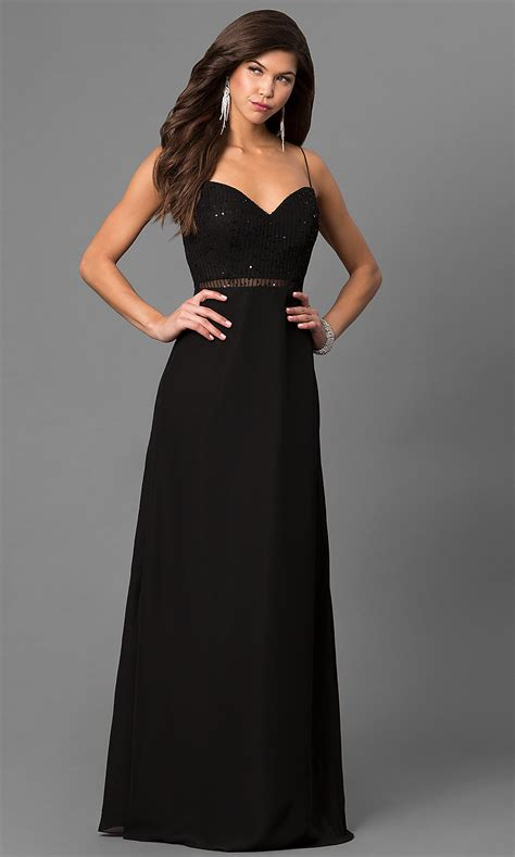 Long Black Prom Dress