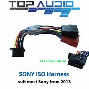 Sony Iso Wiring Harness Mex