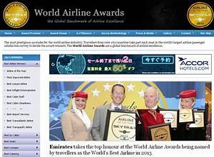「2013年ワールド・エアライン・アワード」 | 海外旅行お役立ち情報ガイド