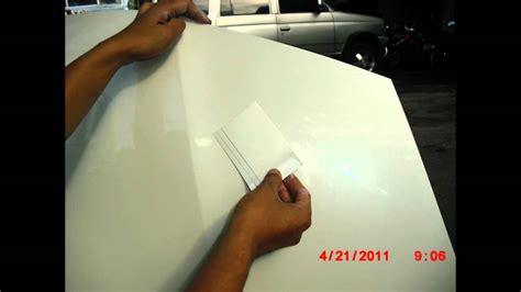 perbaikan cat mobil honda jazz baret warna putih mutiara
