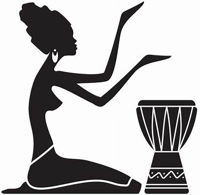 Silhouette Clipart African Clip Transparent Africa Webstockreview