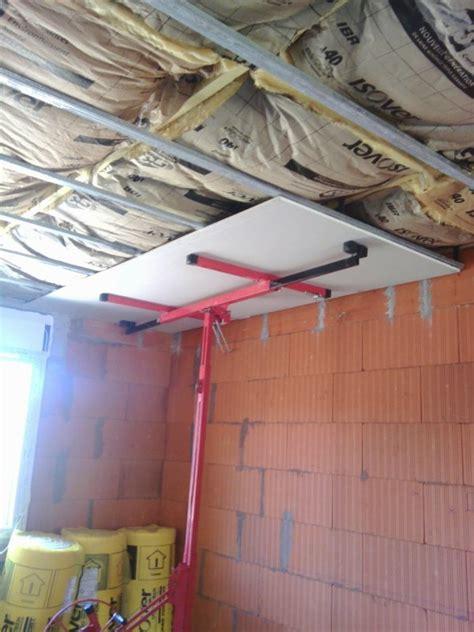 pose placo plafond notre maison mikit 63