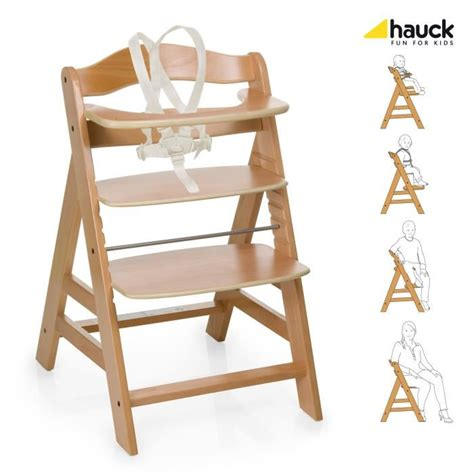 chaise haute bois evolutive hauck chaise haute en bois évolutive alpha bois achat