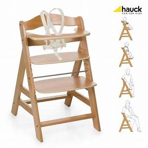 HAUCK Chaise Haute En Bois Volutive Alpha Bois Achat