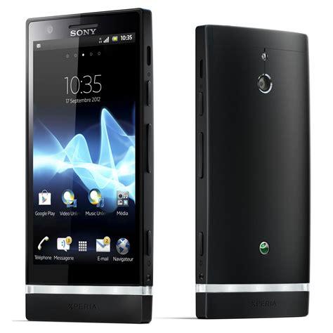 telephone portable sony sony xperia p noir mobile smartphone sony sur ldlc