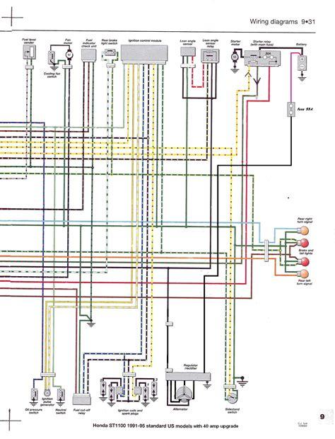 honda st1300 wiring diagrams lights apktodownload
